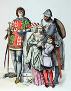 Die Ritter im Mittelalter