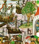 Die Hanse im Mittelalter