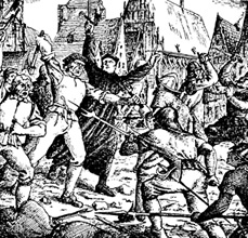 Hussitenkrieg im Mittelalter
