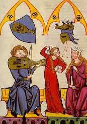 Die weltliche Musik im Mittelalter