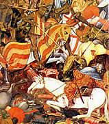 Der Beginn des Rittertums im Mittelalter