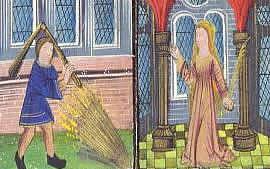 Die Bauernspeise im Mittelalter