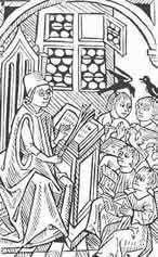 Die Schule im Mittelalter