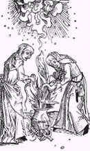 Hexenwahn im Mittelalter