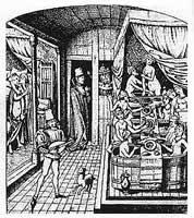 Das Badehaus im Mittelalter