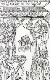 Der Apotheker im Mittelalter