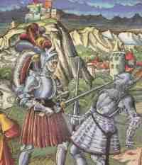 Das Fehdewesen im Mittelalter