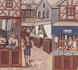 Das Stadtbild im Mittelalter